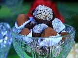 Trufas de Chocolate y Avellanas
