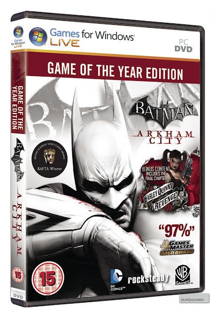 PC Game : Batman Arkham City(19 GB) In Single ISO Link
