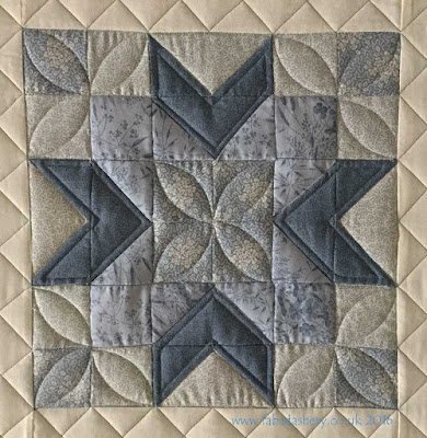Jelly Roll Sampler Quilt - Long Arm Custom Quilting with Rulers