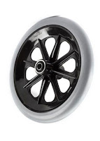 Wheelchair Front Caster Wheel 8 Inch