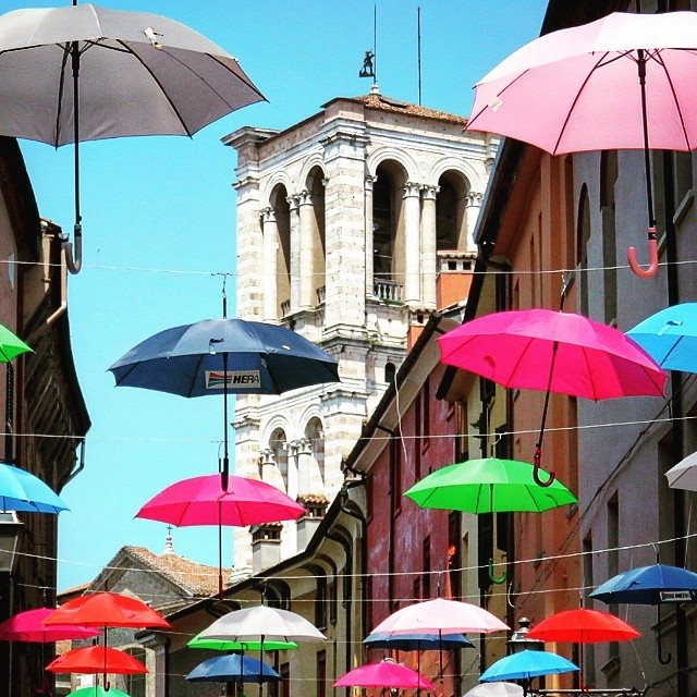 Umbrella Stand Homebase: Ten Things To Do In Ferrara Italy On A Day Trip From