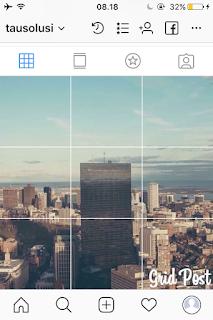 Tutorial Membuat Foto Grid Menyambung di Instagram 1