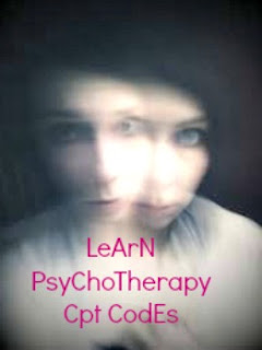 CPT code for Psychotherapy
