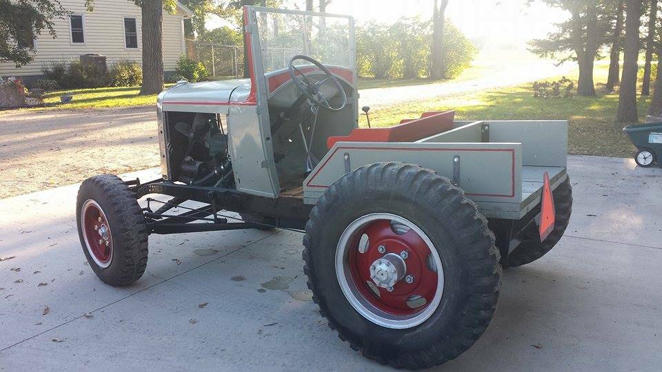 1929 Ford Model A Doodlebug Tractor Autos Post