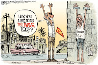 Image result for castro change cuba cartoons