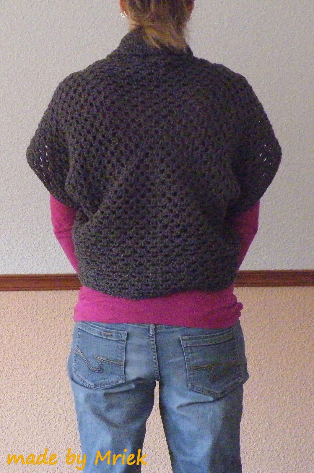 Crochet Granny Vest