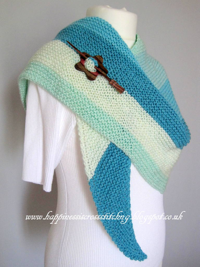 Happiness Is Cross Stitching Loop Knitting Shop In