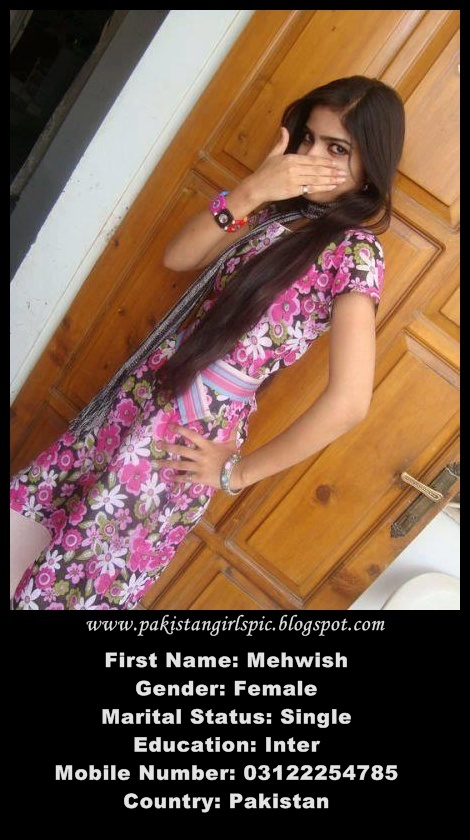 Pakistani Number Mobile 2012 Girls