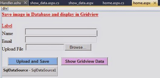 how to get data from database handler