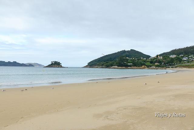 Playa Area de Viveiro, Lugo