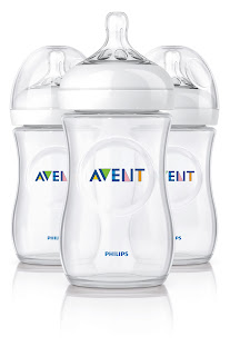 philips Avent natural range, baby bottles