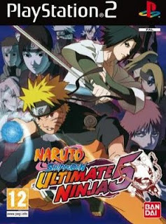 Naruto Shippuden Ultimate Ninja 5 (PS2) 2008