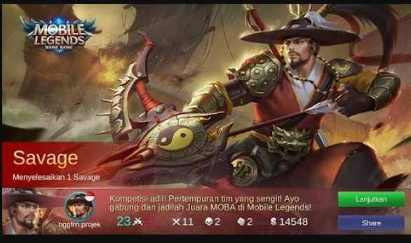 Build Item Yi Sun Shin Savage Full Damage dan Mematikan Ala Top 1 Global