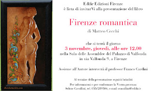 art guide book Firenze romantica