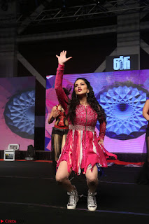 Sunny Leone Dancing on stage At Rogue Movie Audio Music Launch ~  221.JPG