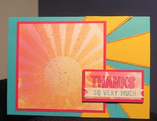spritzed thank you Zena Kennedy Stampin Up independent demonstrator