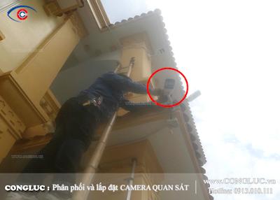Lắp camera giám sát tại phường Dư Hàng