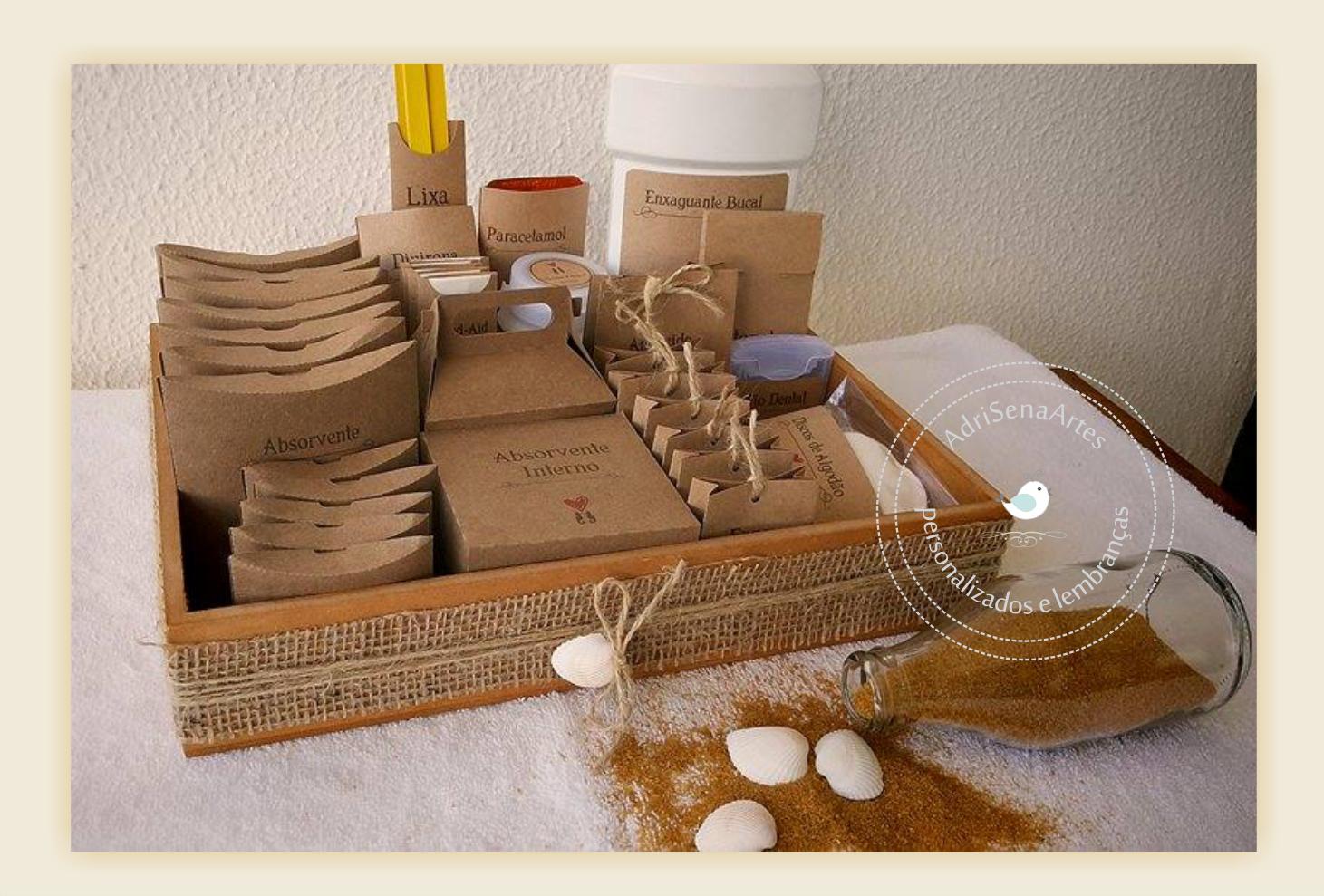 Kit Toalete Casamento Brasilia : Adri sena artes mais itens casamento praiano kit