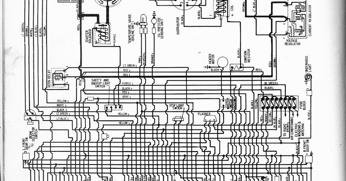 Free Auto Wiring Diagram: 1957 Oldsmobile Wiring Diagram For All Models