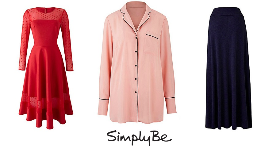 SALES BUYS, shop smart in the sales, Simply Be Sale, Jameela Jamil red dress, PJ top, fashion sale