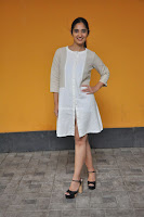 Radhika Cute Young New Actress in White Long Transparent Kurta ~  Exclusive Celebrities Galleries 073.JPG