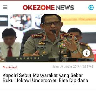"""Solusi Beredarnya Buku Bambang Tri berjudul """"Jokowi Undercover"""""""
