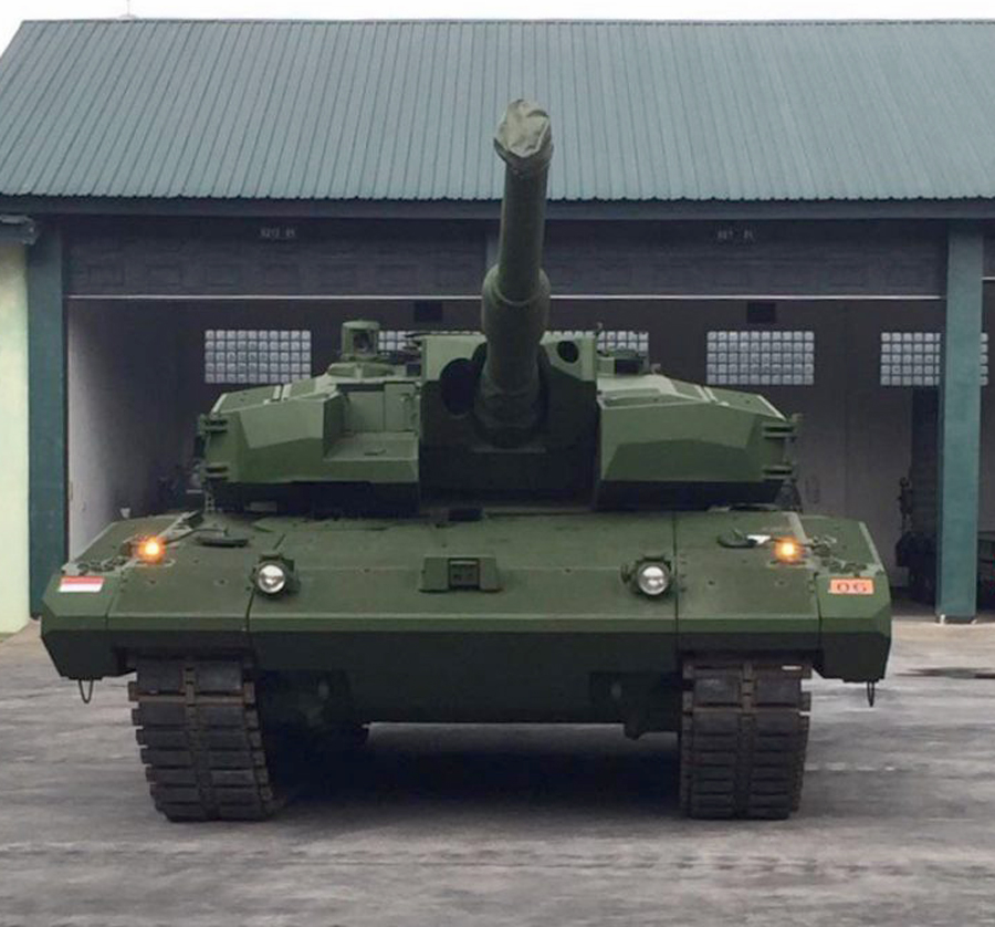 Main Battle Tank Leopard 2 RI