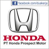 Lowongan Kerja PT Honda Prospect Motor Banyak Posisi Terbaru Agustus 2015