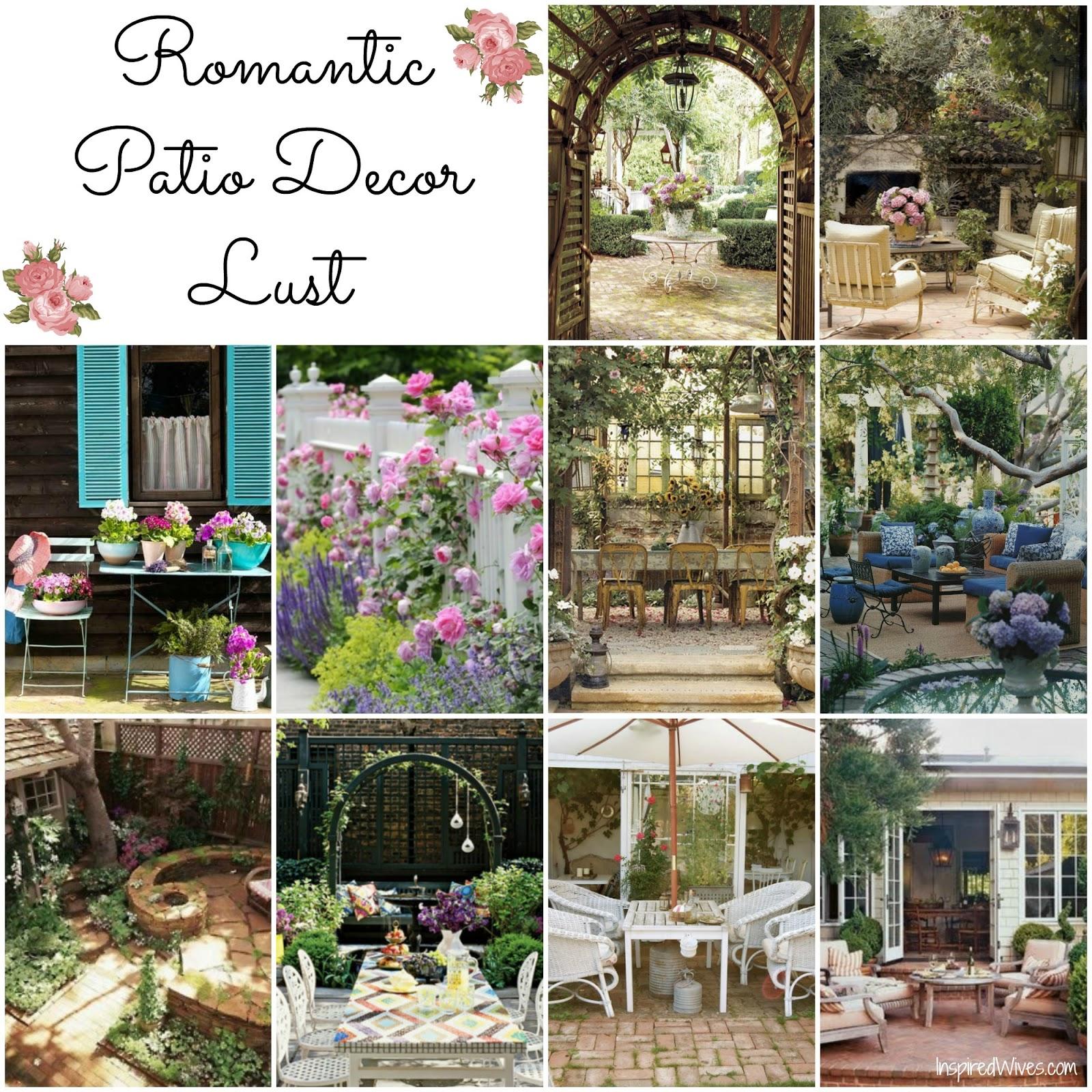 Patio decorating ideas cheap for Romantic patio ideas