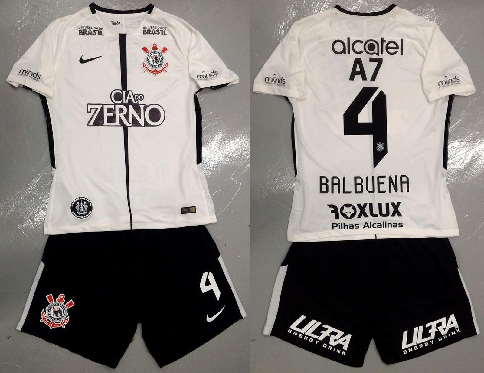 Patrocinadores fazem homenagem ao título de hepta na camisa do Corinthians 11b074d7e2fe6