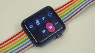 تشغيل الوضع الصامت على ساعة Apple Watch