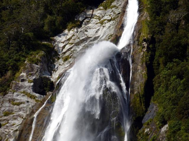 Strirling Falls di Milford Sound