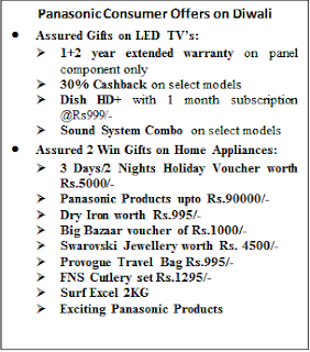 Panasonic introduces special 'Assured 2 Win' offer for its consumers this Diwali