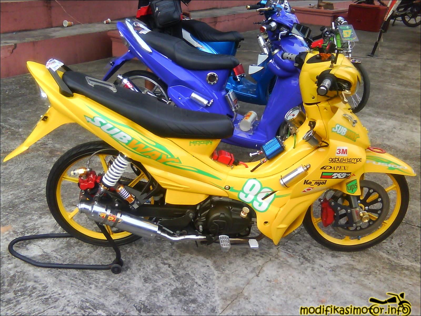Modifikasi Motor Yamaha Jupiter Z Terbaru Kumpulan Modifikasi Motor