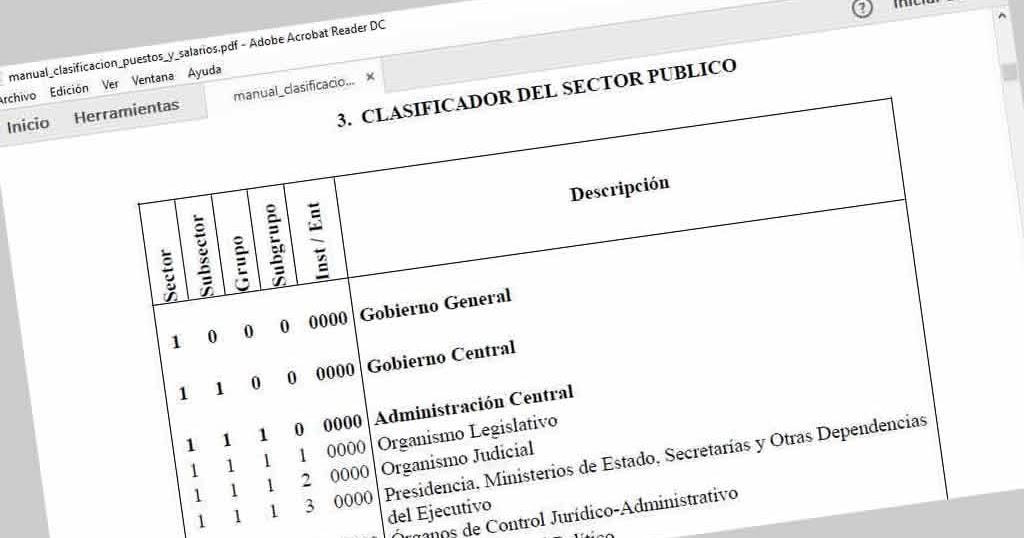 Descargar gratis Manual de clasificaciones presupuestarias