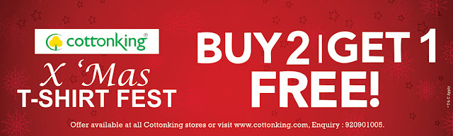 COTTONKING'S GRAND CHRISTMAS SALE IS HERE