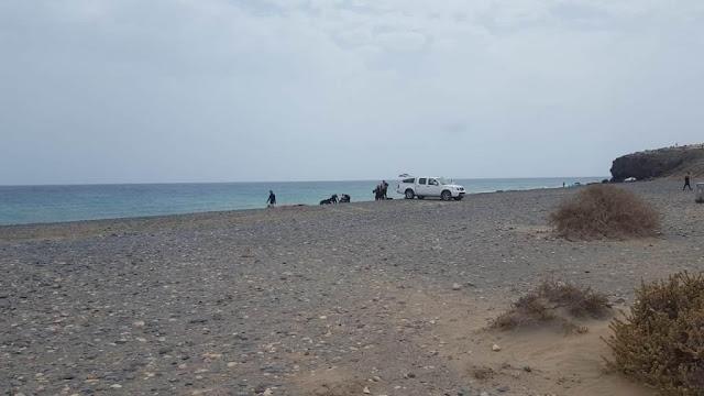 Resultado de imagen de CC de Fuerteventura advierte de nuevas maniobras militares en Pájara después de 16 añosr