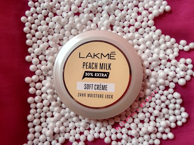 Lakme Peach Milk Soft Cream Review