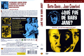 Carátula: ¿Qué fue de Baby Jane? (1962) What Ever Happened to Baby Jane?