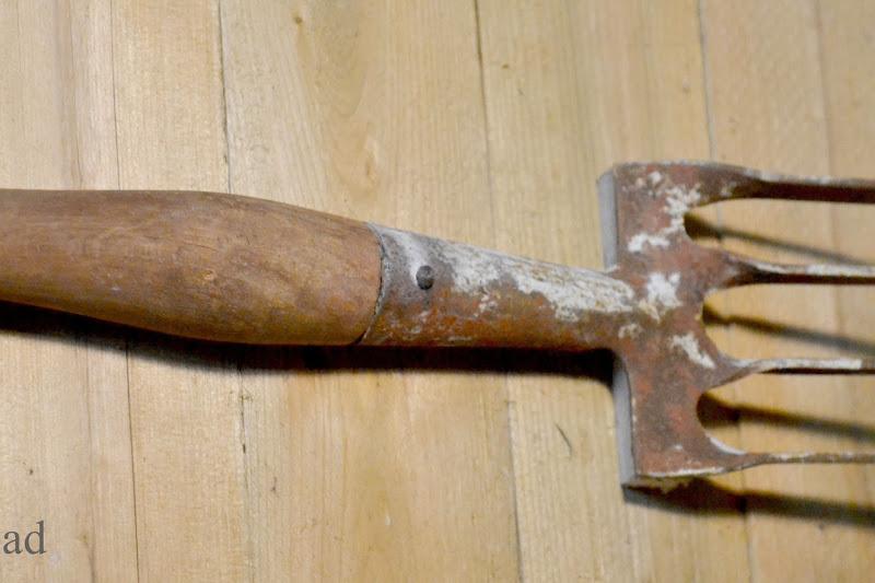 Vintage Garden Tool Hooks