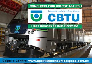 Apostila Companhia Brasileira de Trens Urbanos - CBTU de BH 2016.