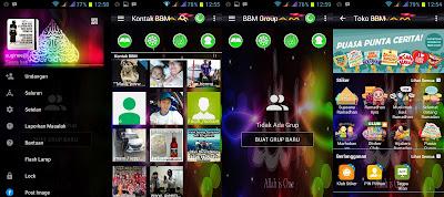 BBM MOD TEMA ISLAMic NEW Versi 2.12.0.11 Apk