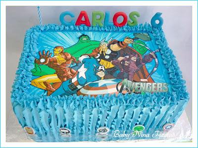 cream cake Avengers