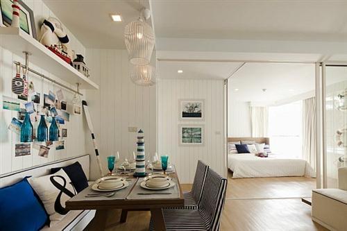 Twc decorando con estilo marinero - Maderas para decorar paredes ...