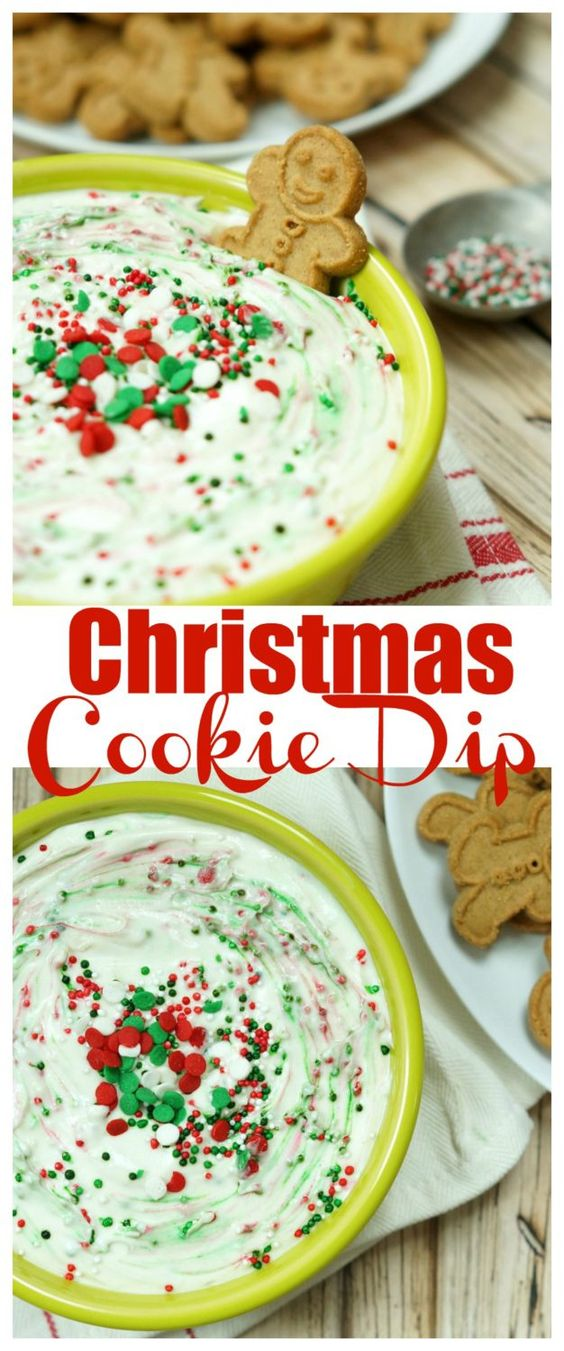 Sweet Christmas Cookie Dip