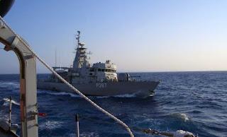 Σοβαρό περιστατικό στα Ίμια: «Επαφή» ελληνικού με τουρκικό πλοίο
