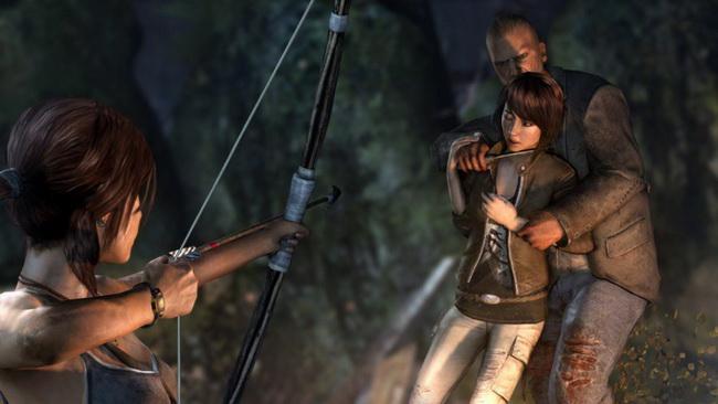 Lara croft lesbo