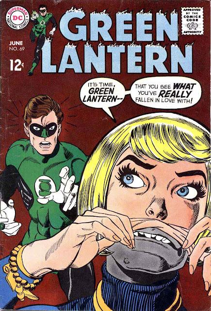 Green Lantern v2 #69 dc comic book cover art by Gil Kane