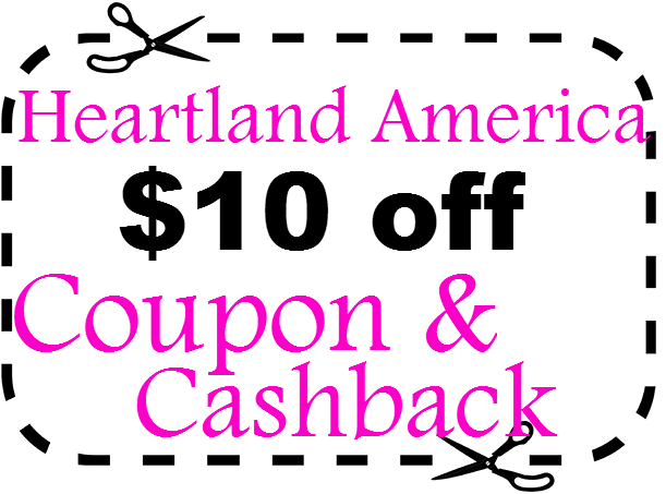 Heartland America Promo Code $10 off March, April, May, June, July, August, September, October 2021