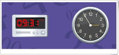 Pon la hora Reloj digital y reloj de agujas Matemáticas de 1º y 2º de Primaria